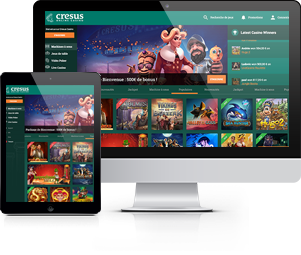 cresus casino ordinateur tablette